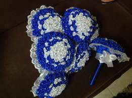 Maids bouquets and baskets