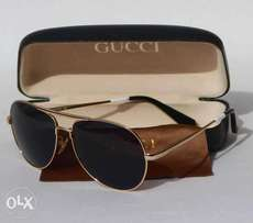 Gucci Aviator Engraved Sunglasses