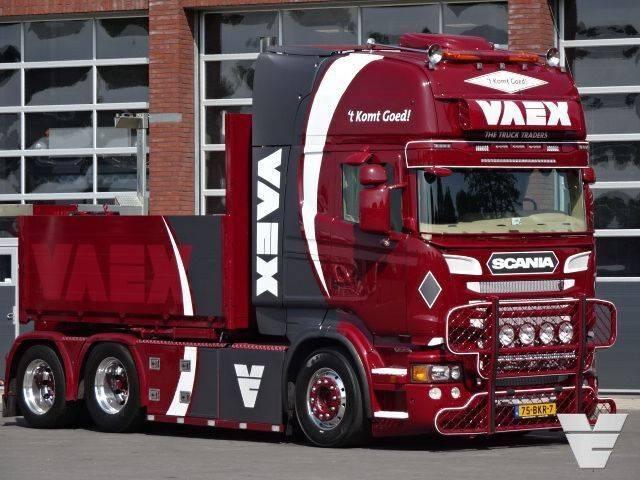 """Scania R560 LA6x2HNA """"Rescue Truck, Triple K True Tilt"""" - 2011"""