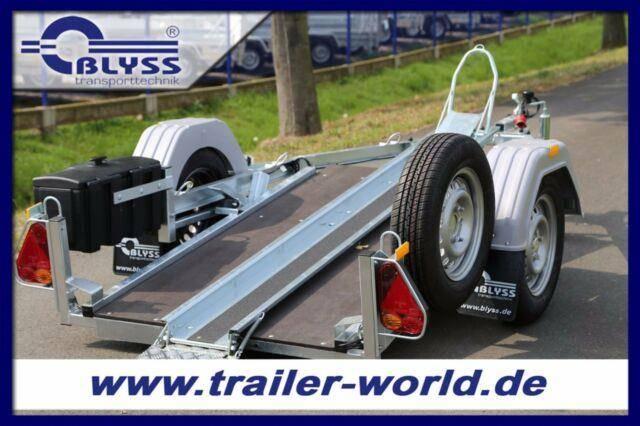 Blyss Motorradanhänger 250x21cm Anhänger 600kg GG