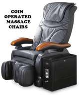 NEW massage chairs Coin operated. For saloons,hotels,barbershops