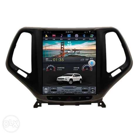 12 inch Android 8 screen for Jeep Cherokee or longitude