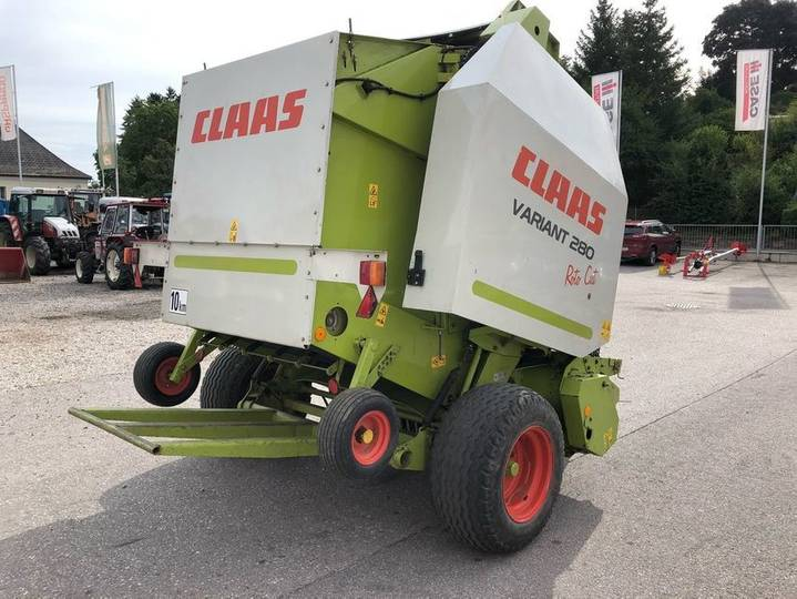 Claas variant 280 rotocut - 2005 - image 4