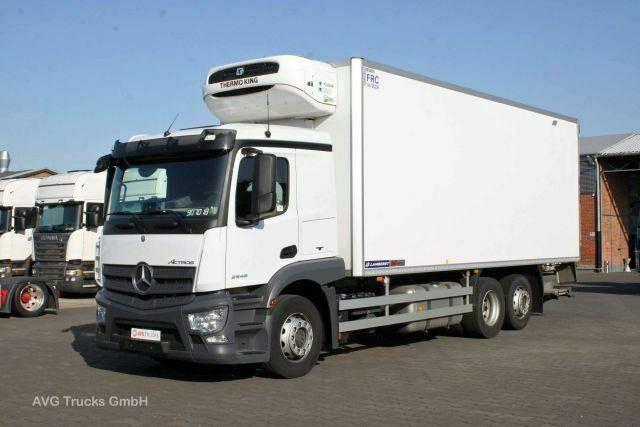 Mercedes-Benz 2546 L ACTROS Rohrbahnen Liege LBW 2 t - 2018
