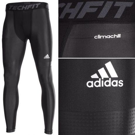męskie legginsy adidas techfit termoaktywne