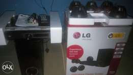 Brand new L.G home theater. Unused with receipt...
