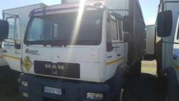 2004 MAN 8Ton Curtainside With Dropside