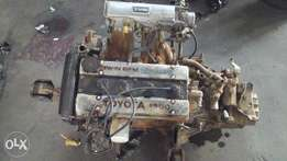 Toyota twincam 16v 4age enjin with gearbox for sale 12500