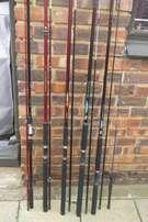 Rods & Reels & General Camping Equipment