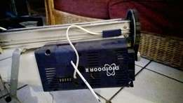Swap my garage motor with railing and remotes for pc or cellphone
