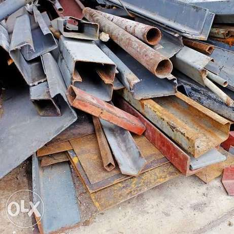 We are buying Scraps steel, aluminium, copper, drums at good prices.