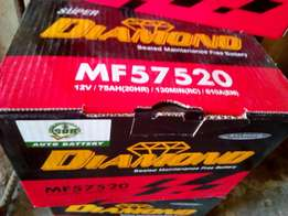 Motto battery diamond 75ah