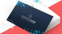 Business Cards With Scanner Code