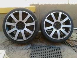 2x 17inch rims forsale