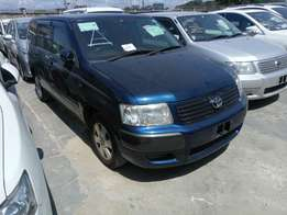 Toyota succeed blue colour