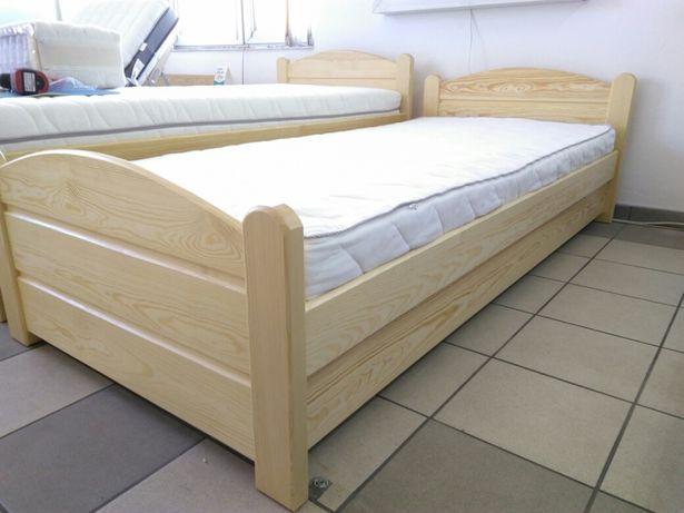 łóżko Tapczan 90x200 Drewniane Z Pojemnikiem Na Pościel