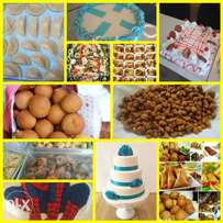 Orders for ur catering services, and also cakes Nd pastries.