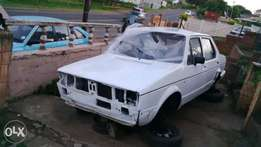 vw fox 1600 striping for spares