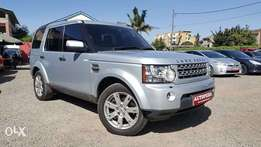 Landrover Discovery 4, Silver