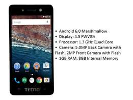 Tecno W2 Brand new, original, sealed in a shop
