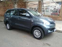 2014 Toyota Avanza 1.3 For R155k Serious Buyers