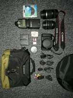 Canon 600D with Accessories
