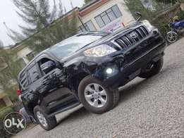 Toyota Landcruiser Prado black colour 2011 model excellent condition