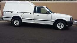 Mazda B-series L.w.b bakkie with canopy for sale