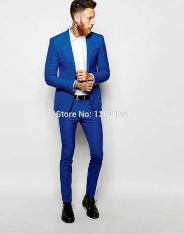Royal blue wedding and official men suits. FREE DELIVERY. Nairobi CBD - image 5