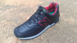 a NEW BALANCE Punk Limited Edition pure leather made in England sz 45
