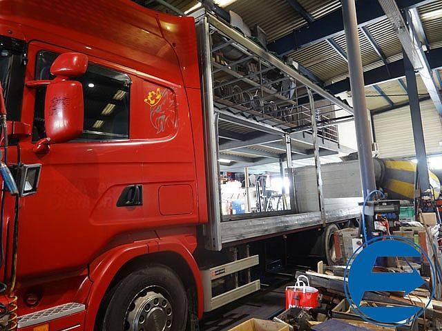 Scania R 470 LB Brücke ohne Plane mit LBW - 2006