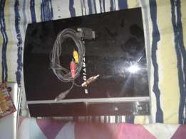 ps3 with cables needs harddrive