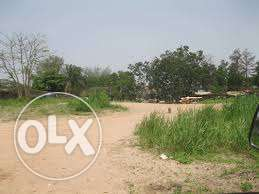 Lands for sale at airport road sharing fence with dunamis int lugbe