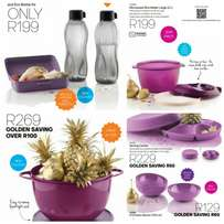 Tupperware Containers and Bottles