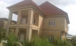 A tastefully nearly completed four bedroom duplex for sale for 55M