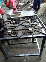 Three in one gas cooker