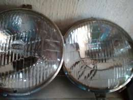 Ford escort mk1 original head lights r500 pair