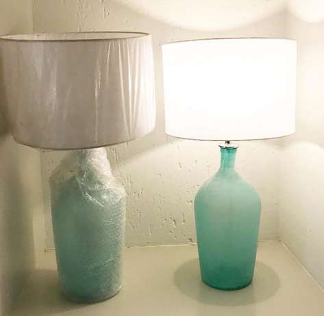 Lamps with lampshades Broadacres - image 2