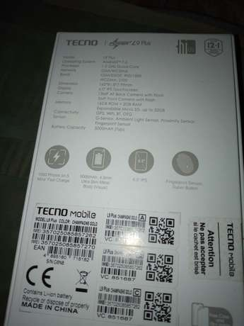 L9 plus still in box Benin City - image 2