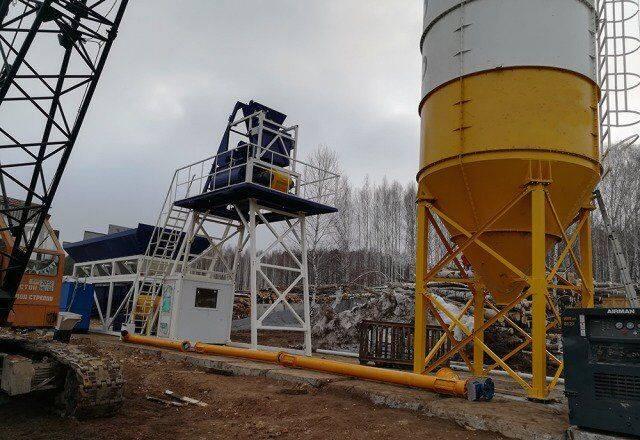 ZZBO mobilnyy betonnyy zavod kompakt-60 (60 m3/ch)  concrete