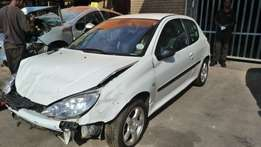 Stripping for parts Peugeot 206 GTI
