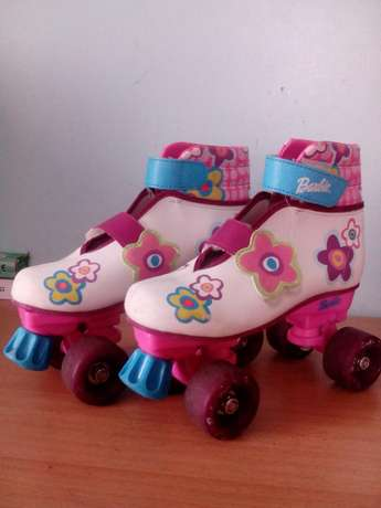 Four wheels barbie roller skate shoes Bombolulu - image 2