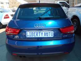 2012 Audi A1 1.4T Attraction TFSi 80,393km Hatch Back Manual Gear 6 Sp