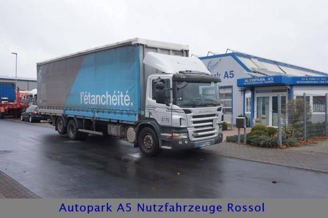 Scania P270 Pritsche+Plane Klimaanlage Euro 4 L9,60m - 2007