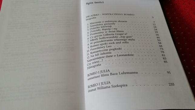 Książka Dicaprio Współczesny Romeo Grace Catalano Wrocław