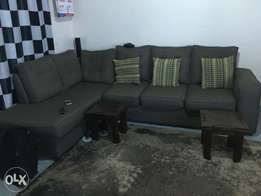 L-Shaped Sectional 6 Seater Couch/Sofa