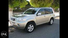 Nissan Xtrail Available for Hire
