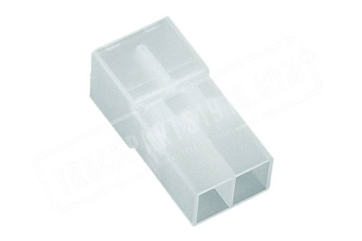 White Multiconnector male  2p TRUCKPARTS1919 spare parts for truck - 2019