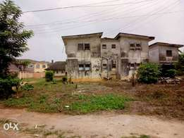 Duplex with a bq on 1200sqm for sale at leadcity street, jericho