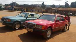 Mercedes-Benz w 201 and 124 for sell